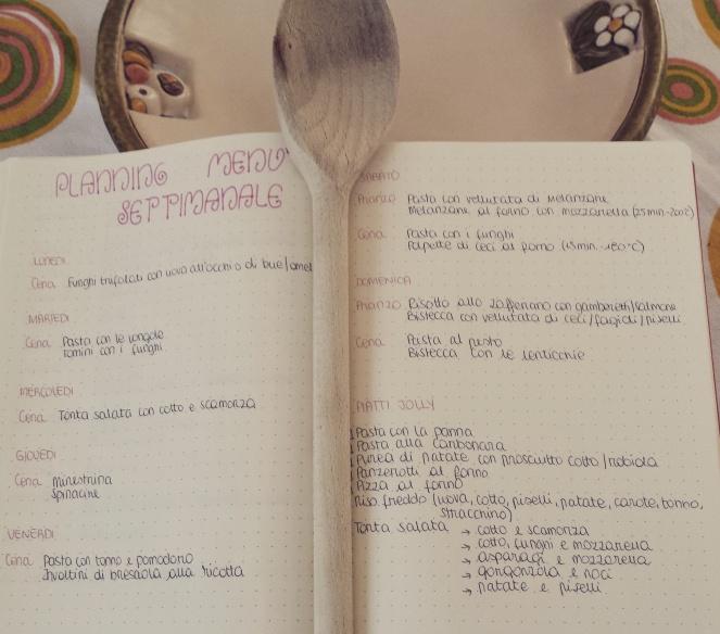 planning-menu-settimanale
